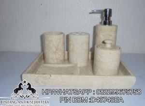 Bathroomset Marmer Murah