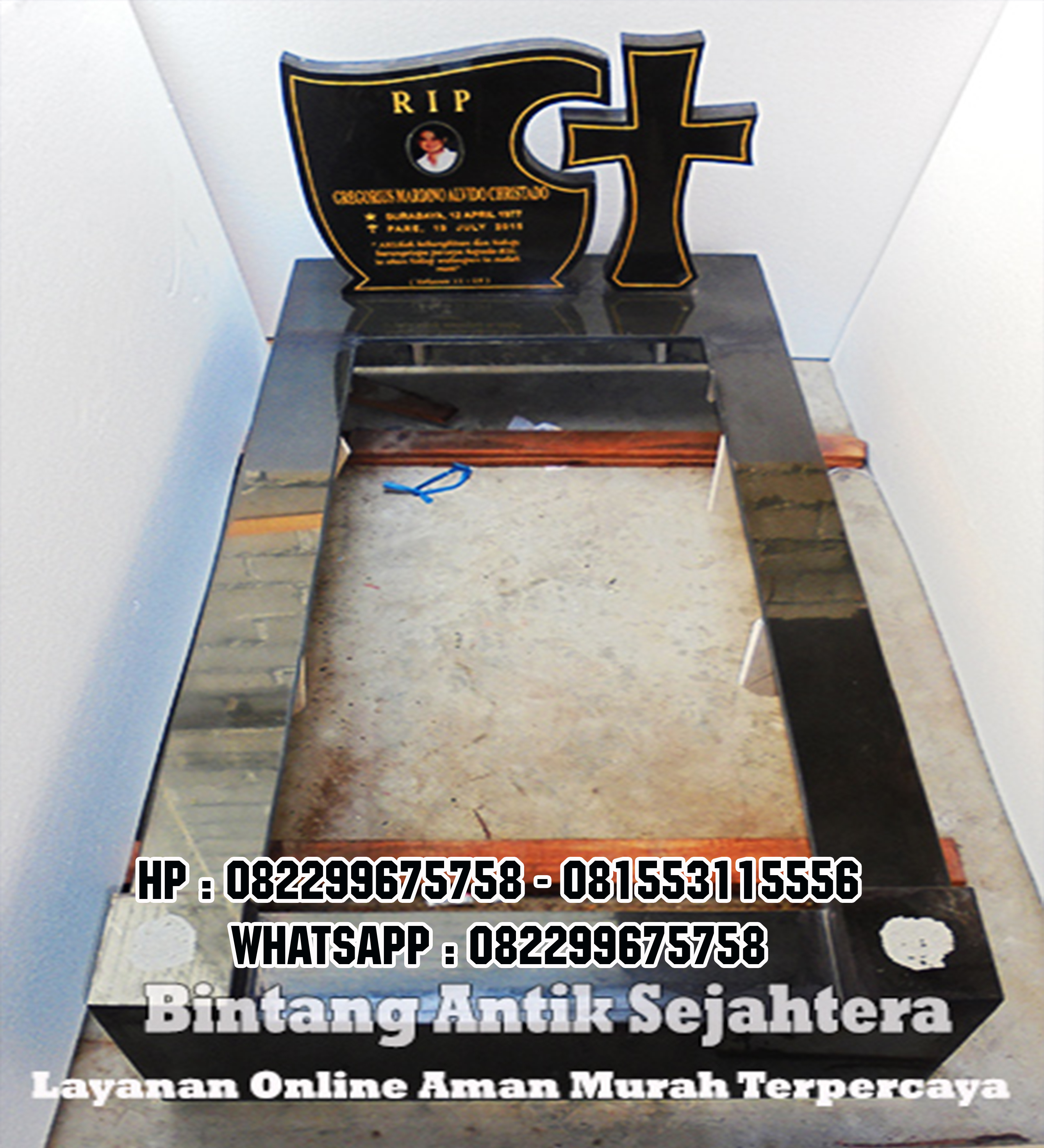 Model Kuburan Eropa Modern-Model Makam Granit Eropa-Model Makam Kristen-Model Makam Modern-Model Makam Eropa
