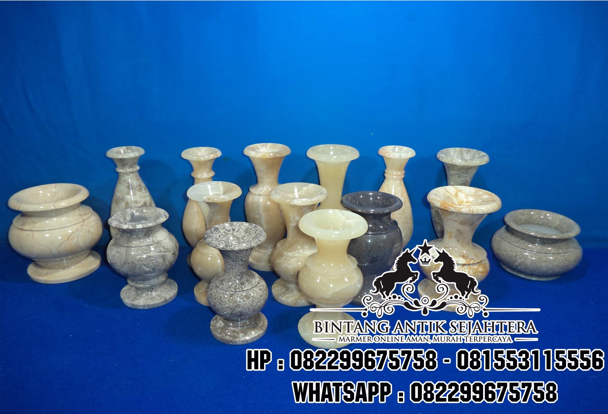 Vas Marmer-Vas Bunga Unik-Jual Vas Marmer Murah-Harga Vas Bunga Marmer-Pengrajin Vas Marmer