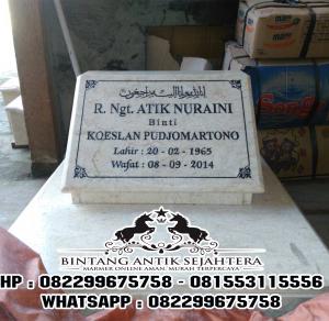 Nisan Putih Marmer | Jual Nisan Putih Marmer