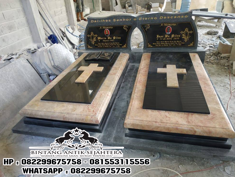 Daftar Harga Kijing Marmer Granit, Model Kuburan Kristen Modern, Pabrik Kijing Makam Orang Kristen