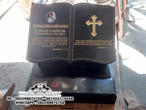 Jual Batu Nisan Kristen, Model Batu Nisan Kuburan Islam, Harga Batu Nisan Marmer Bandung