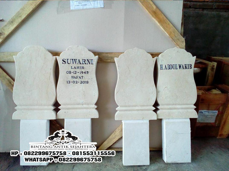 Nisan Patok Marmer, Nisan Patok Kuburan, Nisan Kuburan Islam, Biaya Pasang Batu Nisan