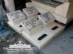 Jual Batu Nisan Islam, Model Batu Nisan Kuburan Islam, Gambar Batu Nisan