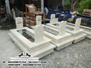 Makam Keramik Marmer, Kijing Makam Marmer Model Pahlawan, Makam 2 Tingkat
