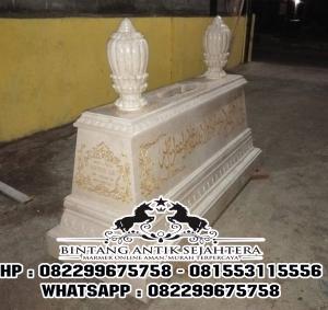 Makam Marmer Suharto   Jual Makam Marmer Putih