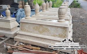 Jual Kijing Makam Marmer Termurah, Produsen Batu Nisan Makam Marmer