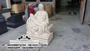 Jual Patung Pieta Murah, Harga Patung Rohani, Jual Patung Yesus