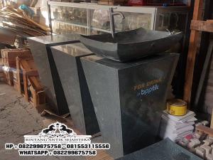 Wastafel Unik Batu Alam Tulungagung