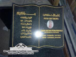Model Terbaru Nisan Kuburan Islam, Kristen di Tulungagung